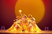 "Alvin Ailey American Dance Theater in Alvin Ailey's ""Revelations"" (Gert Krautbauer photo)"