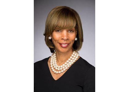 Senator Catherine E. Pugh, Majority Leader of the Maryland Senate joined First Lady Michelle Obama in her box, as a ...