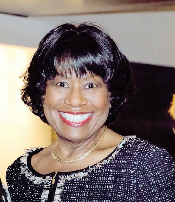"""Dr. Pamela V. Hammond radiates energy and optimism in her new role as interim president of Virginia State University. """"Every ..."""