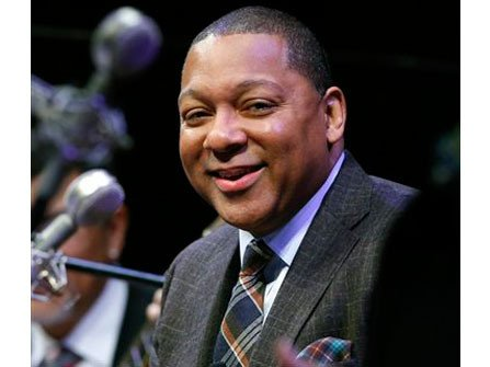 Mayor Turner greeted the audience and welcomed Grammy and Pulitzer Prize-winning trumpeter and composer, Wynton Marsalis, along with Vincent Gardner ...