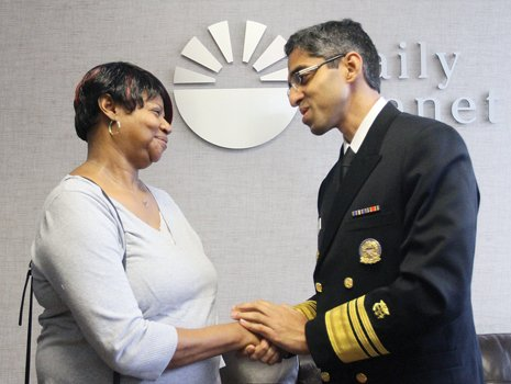 The surgeon general of the United States learned Tuesday that affording health care is as much of a struggle as ...