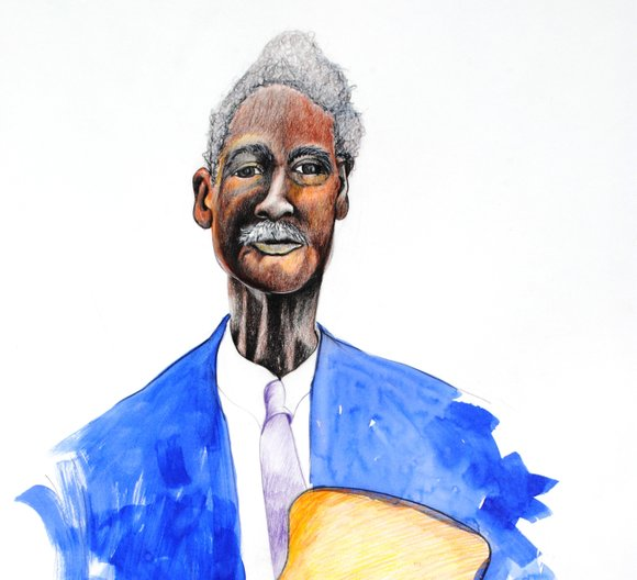 """It's called """"Congruent Images."""" The exhibit of paintings by veteran Richmond area artists P. Muzi Branch and William """"Blue"""" Johnson ..."""