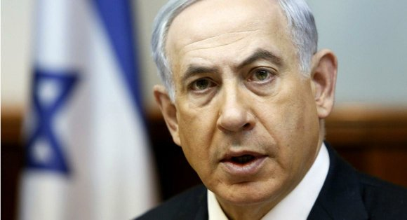 "In a dramatic address to the U.S. Congress at what he said was a ""fateful"" crossroads of history, Netanyahu openly ..."