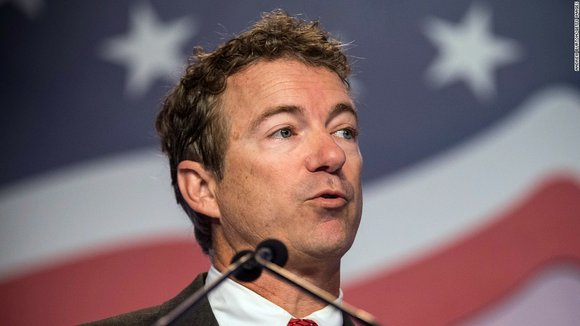 "Rand Paul piled on Ted Cruz over immigration Sunday, saying his Republican presidential rival ""should just admit that he changed ..."