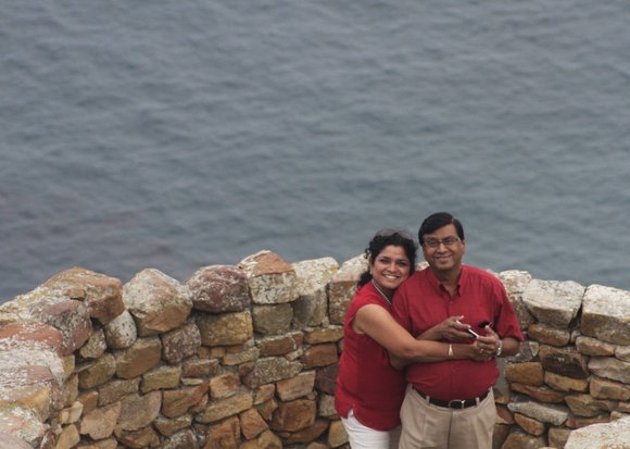 My parents, Shanthi and C. S. Seshadri, met only twice before their wedding 30 years ago in southern India.