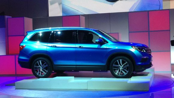The 2016 Honda Pilot goes on sale this summer, and the differences are stark. The current model, now seven years ...
