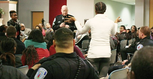Richmond residents clashed Tuesday at a community forum on whether they believe the city has a policing problem. Several older ...