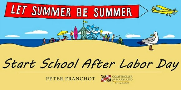 "Building on the overwhelming success of his ""Let Summer Be Summer"" petition drive, Comptroller Peter Franchot is now asking Marylanders ..."