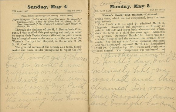 When officials at the Earl Gregg Swem Library at The College of William & Mary purchased a 1902 diary from ...