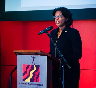 Karen Shaheed, Bowie State general counsel and co-chair of the Sesquicentennial Steering Committee.