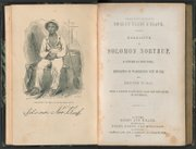 """Above, a first edition copy of Solomon Northup's """"12 Years a Slave."""" Right, the diary of Florence Barber, Solomon Northup's granddaughter."""