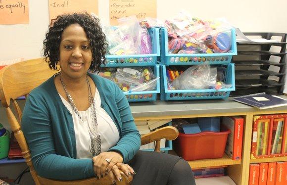 Chantel Asim is a 3rd-grade teacher at Jonas Salk Elementary School in Bolingbrook.