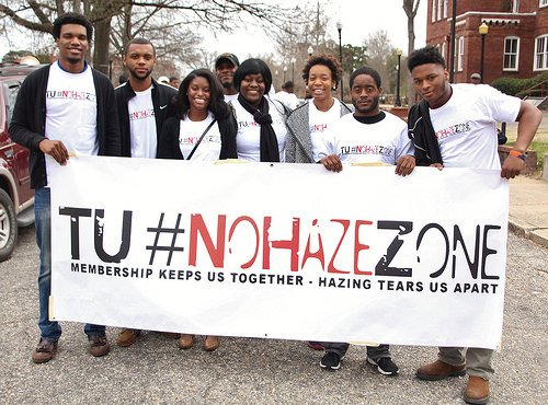 The campus community united Saturday to send a clear message that hazing will not be tolerated. Organized by Enrollment Management ...