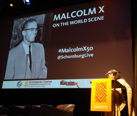 Several hundred admirers attended the Malcolm X and Dr. Betty Shabazz Memorial and Education Center in Washington Heights last Saturday ...