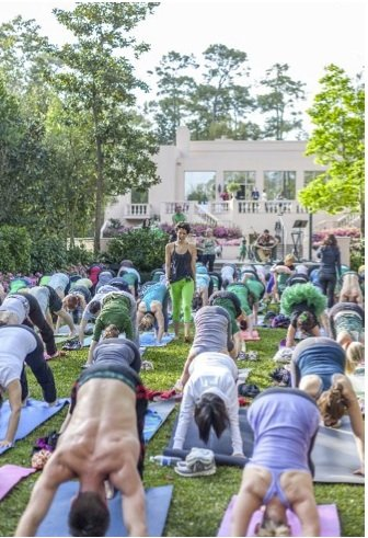 Celebrate springtime in Rienzi's gardens with a yoga class led by Breakfast Yoga Club Houston. This grassroots volunteer yoga organization ...