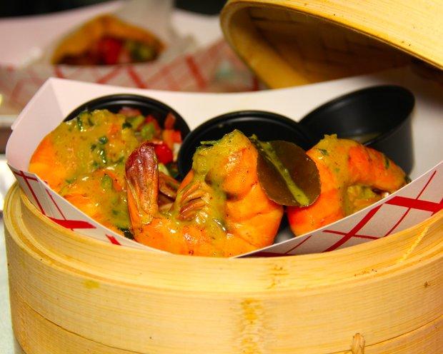 Shrimp steampot