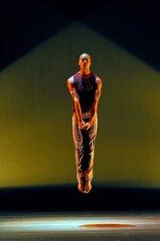"Ailey II's David Adrian Freeland Jr. in Katarzyna Skarpetowska's ""Cuore Sott'Olio"""