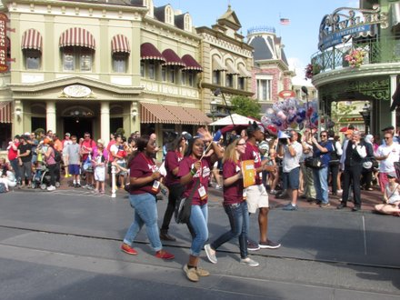 Disney Dreamers at Magic Kingdom