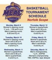 Basketball Tournament Schedule