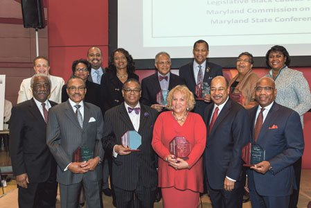 Key Marylanders and innovators were honored at the Black History Month event including  Joy Bramble, owner/publisher of The Baltimore Times;