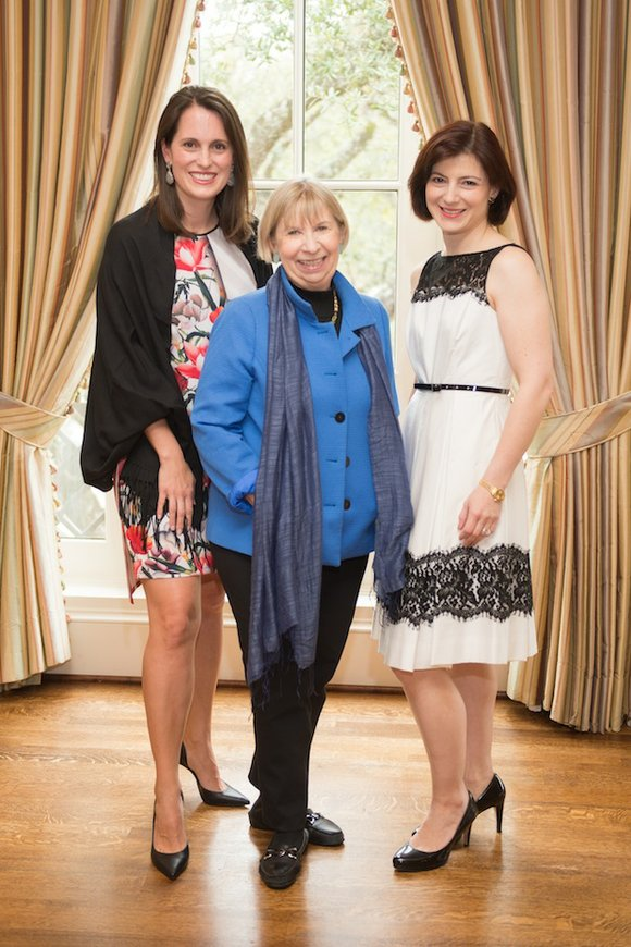 The Children's Museum of Houston and chairs Valeria Burguières and Emily Dalicandro welcomed renowned speaker and author Joline Godfrey to ...