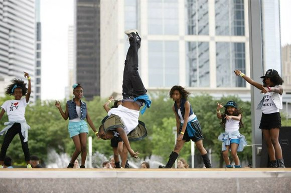 Back for its third year, Discovery Green is host to this year's Discover Dance.