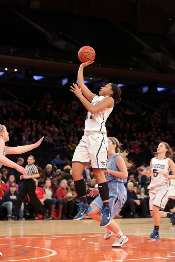 It was a close battle throughout, but then one of the brightest stars in Division II women's basketball, Madison Rowland, ...