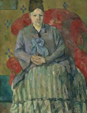 """""""Madame Cezanne in a Red Armchair"""""""