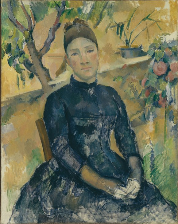 On view at the Metropolitan Museum of Art now through March 15 are paintings, drawings and watercolors by Paul Cezanne ...