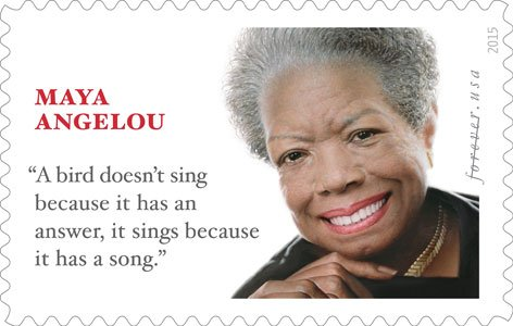 The U.S. Postal Service recently previewed the Dr. Maya Angelou Forever Stamp image and announced that the First-Day-of-Issue stamp dedication ...