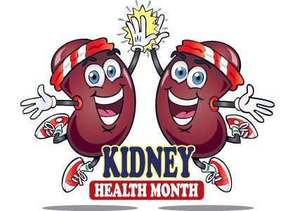 March is National Kidney Month and the National Kidney Foundation is calling on all Americans to take five healthy steps ...