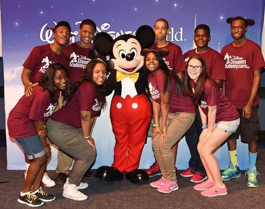 ORLANDO, Fla.—Walt Disney World Resort welcomed 100 teens selected to participate in the 2015 Disney Dreamers Academy with Steve Harvey ...