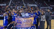 Hampton wins the Mid Eastern Athletic Conference Basketball Title