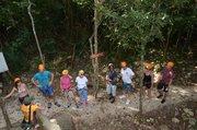 The Coba Maya Encounter begins with a beautiful hike through the subtropical jungle. (Lysa Allman-Baldwin photos)