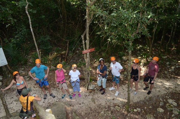 The Coba Maya Encounter begins with a beautiful hike through the subtropical jungle. (Lysa Allman-Baldwin photos)