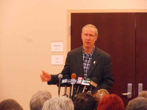 The governor said he wants local people to decide such issues as right-to-work, and that having just a few areas ...