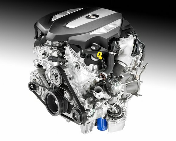 Cadillac announced a new generation of V-6 engines, led by an exclusive Twin Turbo V-6 that will be one of ...