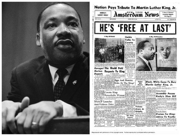 April 4, 1968, is a day that will live in infamy. Most Americans can recall...