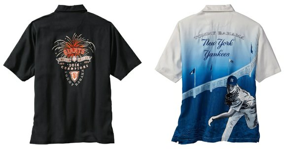 Tommy Bahama is back with its highly successful line of officially licensed MLB apparel for the 2015 Major League Baseball ...