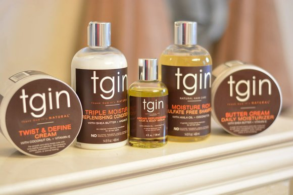 Tgin (Thank God I'm Natural) is a delicate cream and conditioning collection for natural hair, and the good news is, ...