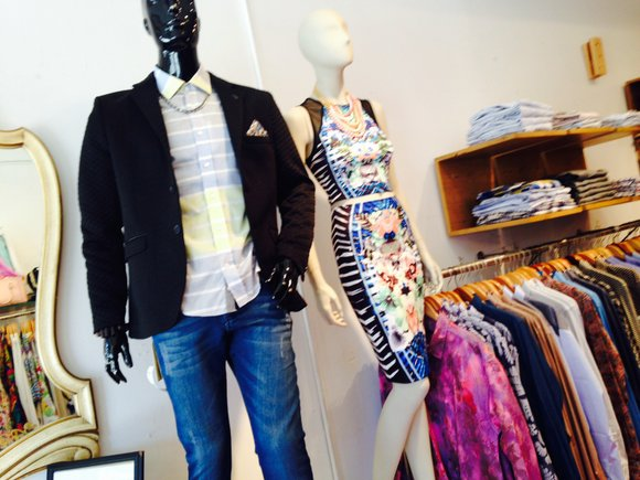 Macy's Flower Show was beautiful. To add to the attraction, couture and ready-to-wear designer b. Michael celebrated his latest spring ...