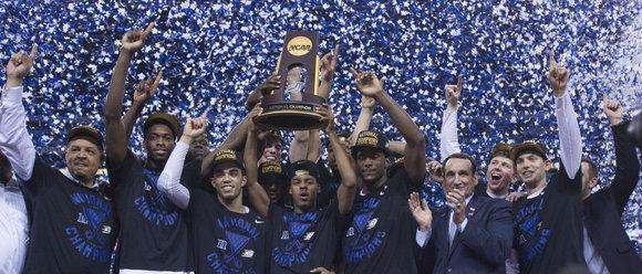 Duke University's super freshmen didn't play like freshmen in the NCAA Final Four championship game.