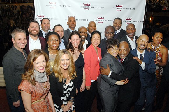 Theater and Harlem luminaries converged on the Apollo Theater Soundstage Monday to mark the 15th anniversary of the Classical Theatre ...