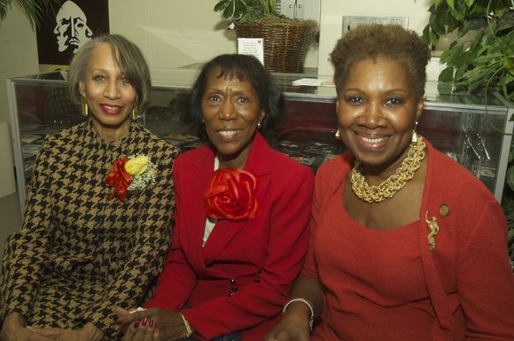 At the State Office Building in Harlem, the National Association of Negro Business and Professional Women's Clubs held their Women's ...