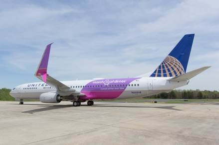 United Airlines today welcomed a new Boeing 737-900ER aircraft to its fleet, and while it is not the first of ...