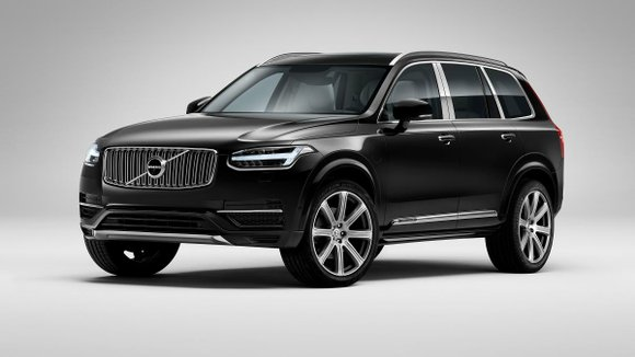 The Range Rover Autobiography is about to get some company: Volvo has just bumped its 2016 XC90 SUV up to ...