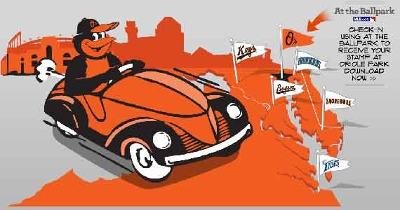 """The Orioles announced that the popular """"Birdland Passport"""" program, designed to reward fans who visit Oriole Park at Camden Yards ..."""
