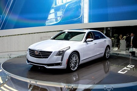 Cadillac will sell a plug-in hybrid version of its new CT6 full-sized luxury sedan, General Motors said at the Shanghai ...
