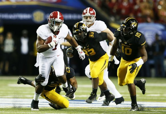 Alabama running back T.J. Yeldon is surely a match for the Ravens. Yeldon was productive right from the start at ...