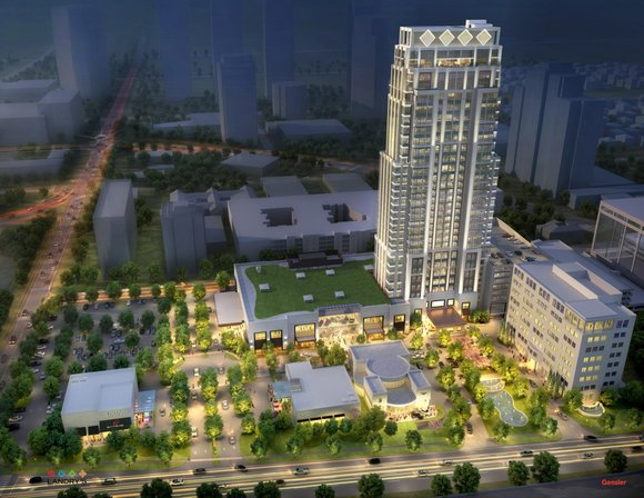 Tilman J. Fertitta has broken ground on The Post Oak, the first vertical mixed-use, master-planned project in Houston that combines ...